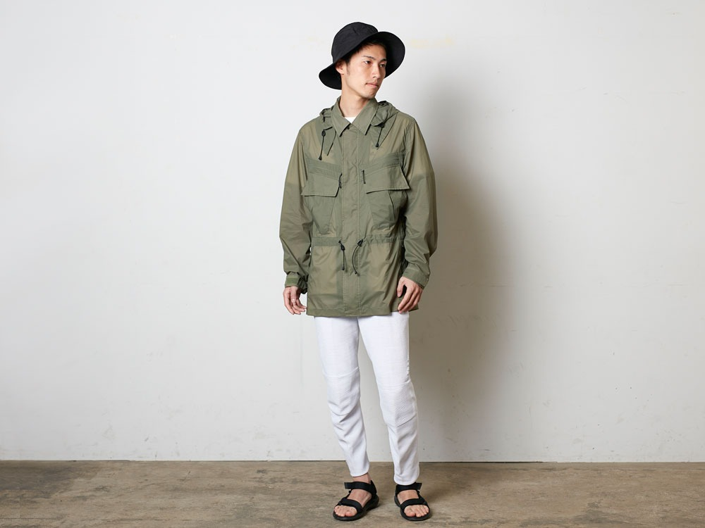 Rain&WindResistantJacket S Beige1