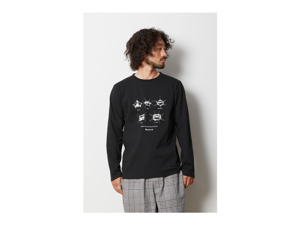 SP Tarp ロングスリーブ Tシャツ 1 Black
