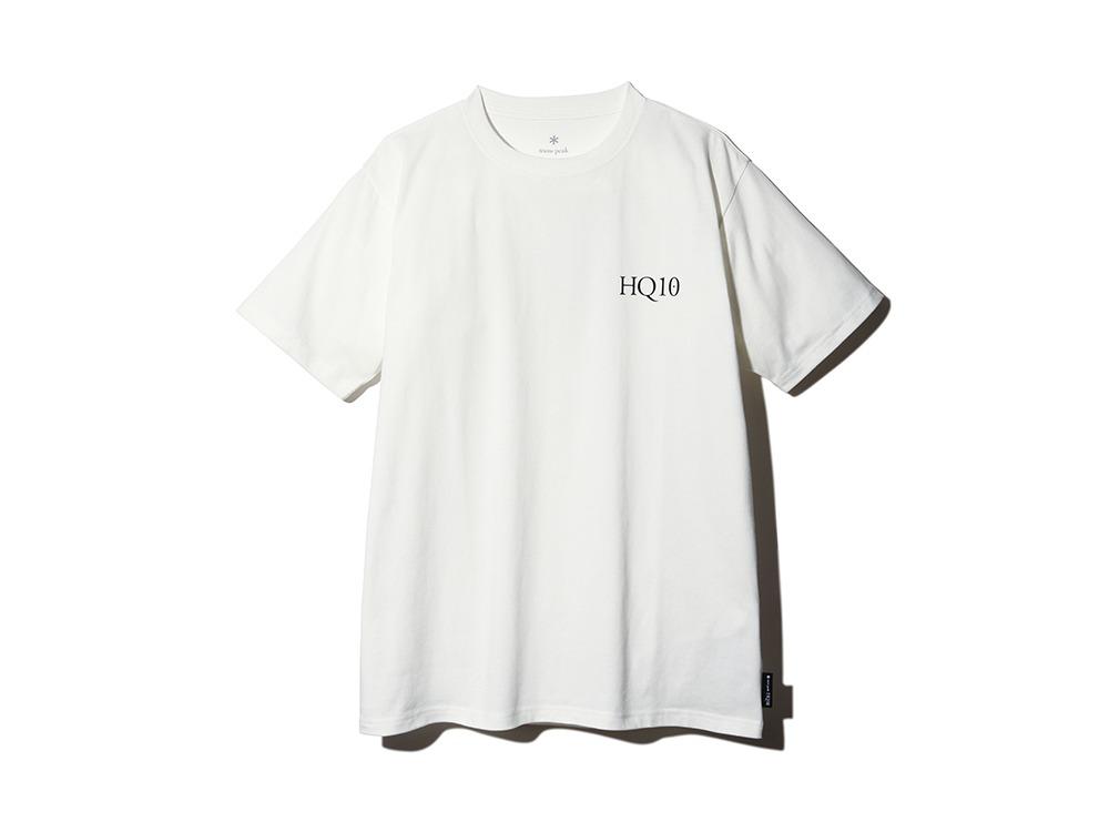 HQ10周年記念 Tshirt M White