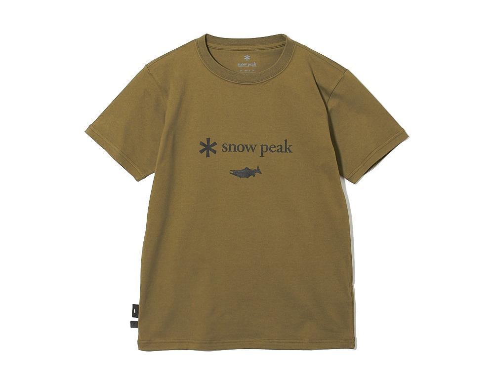 SP×TONEDTROUT Logo Tshirt S Beige
