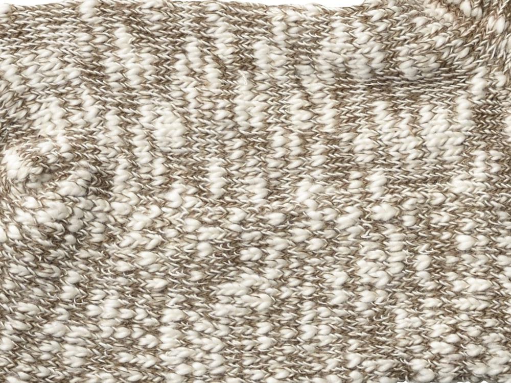 ガラガラソックス (M) ブラウン