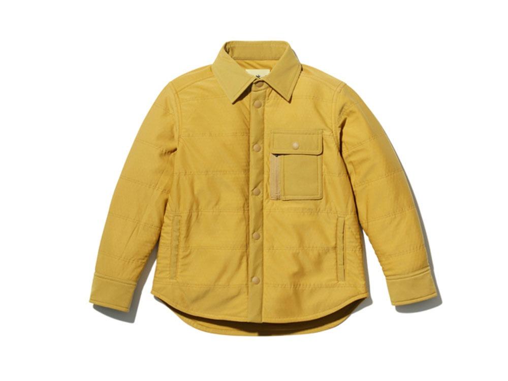 キッズ フレキシブルインサレーションシャツ 1 マスタード