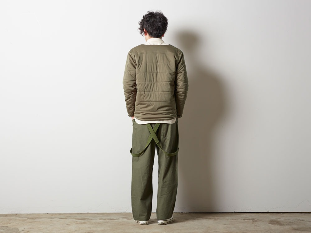 Flexible Insulated Cardigan L Olive2