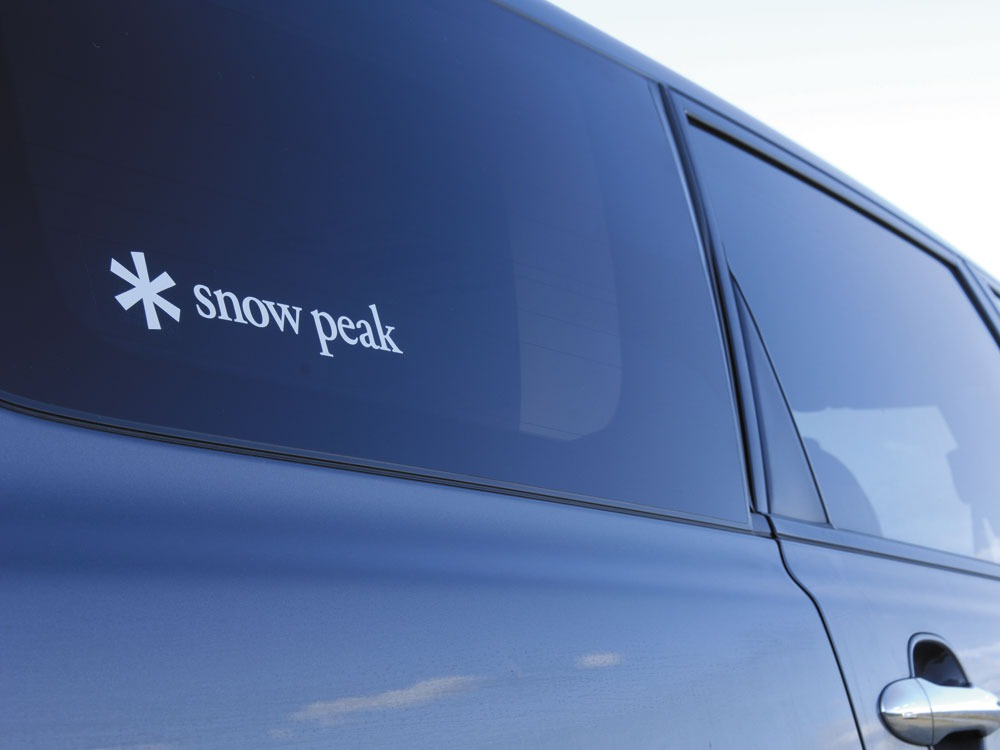 Snow Peak Logo Sticker Asterisk S1