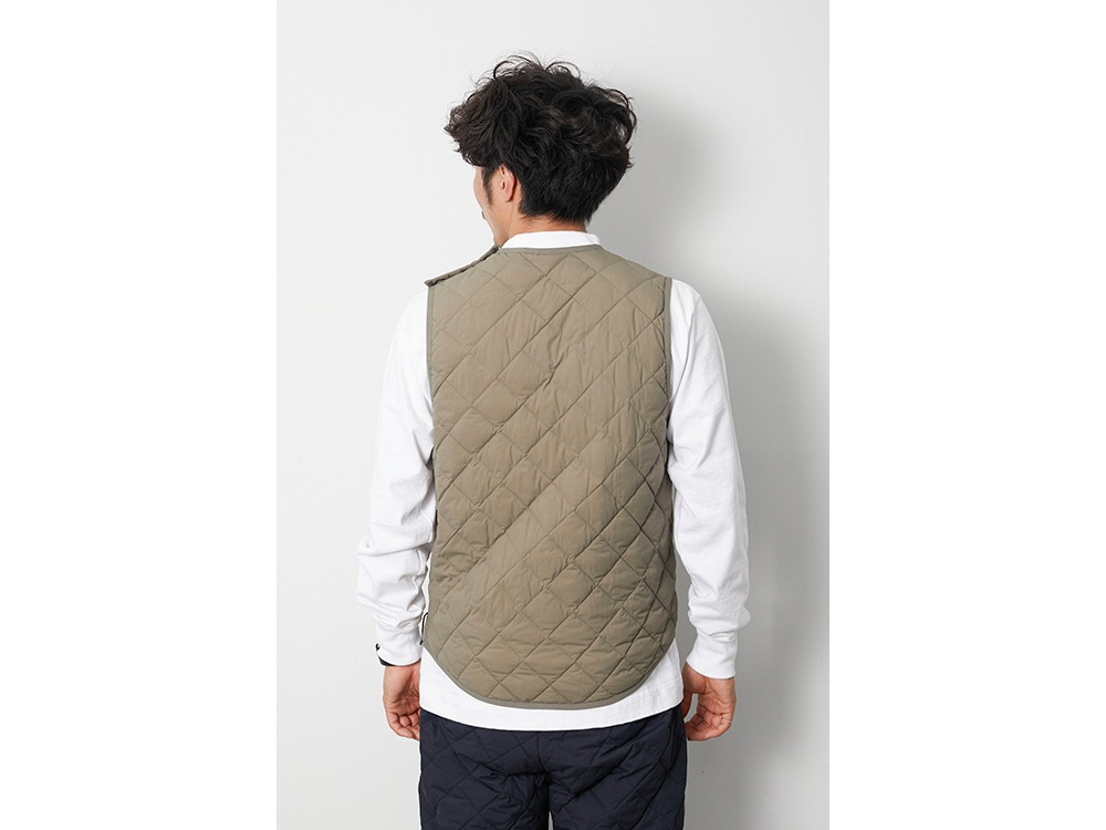 Recycled Ny Ripstop Down Vest M Black
