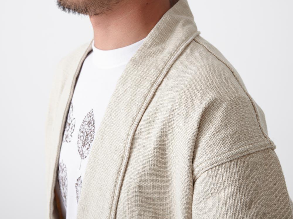 Linen HAORI Jacket 1 Ecru6