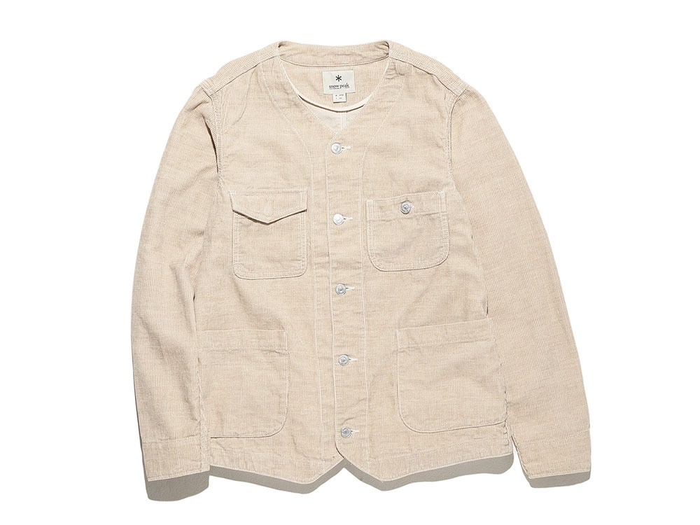 Linen Corduroy Jacket 2 Natural0