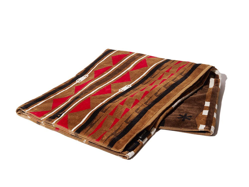 SP×PENDLETON TOWEL BLANKET One Beige