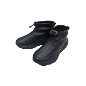 Leather Thermal Mock Shoes 28 Black