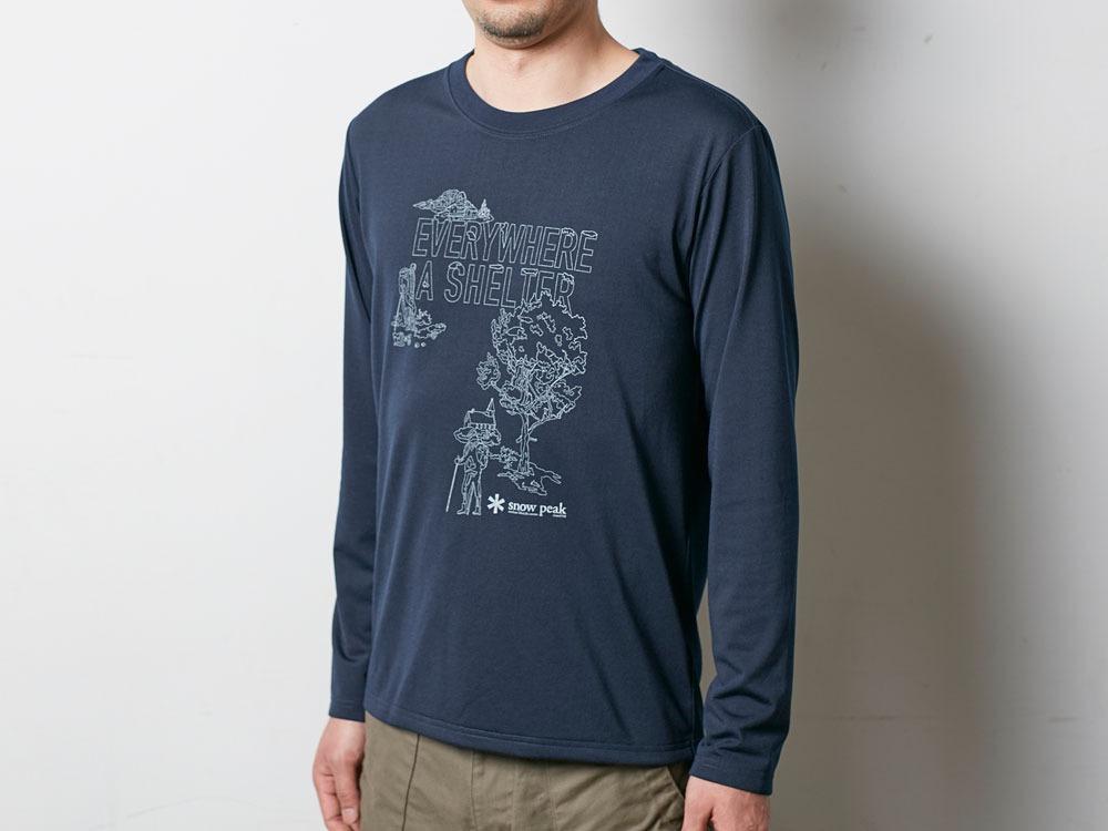 Campfield Long Tshirt M Melange Grey4
