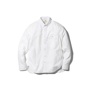 オーガニックオックスシャツ  M ホワイト