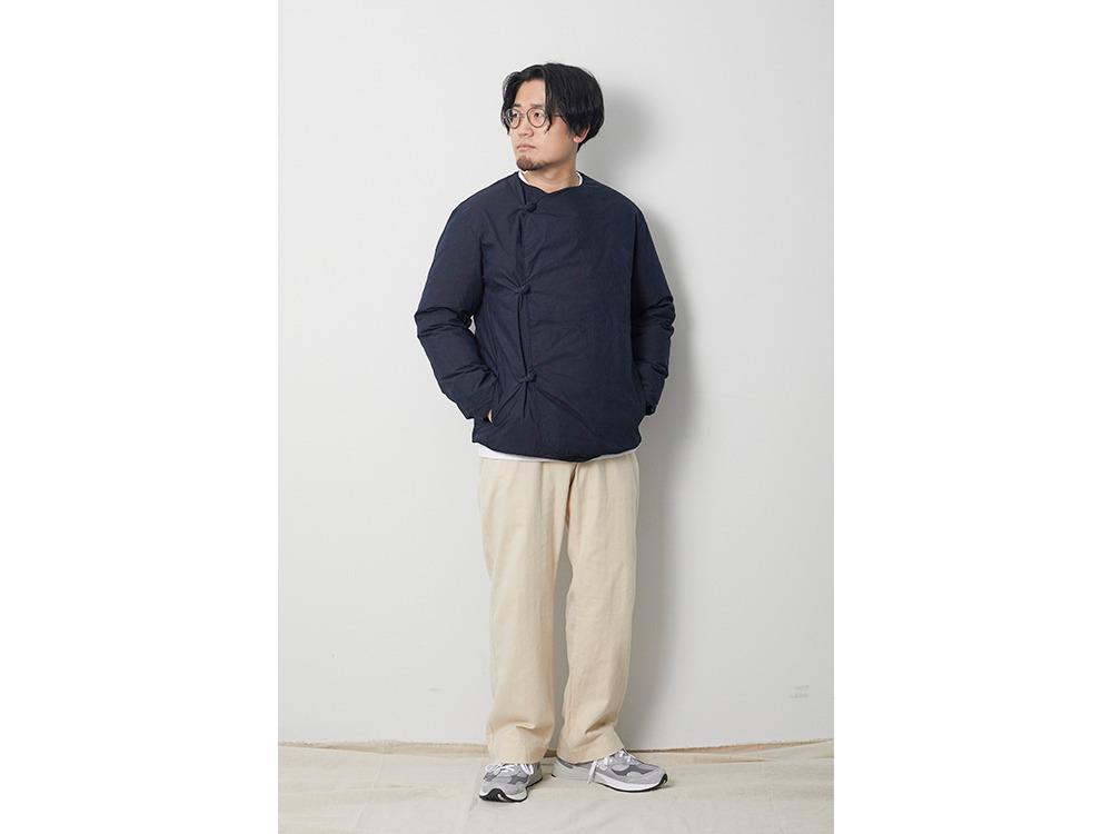 Indigo C/N Down Jacket XL Black