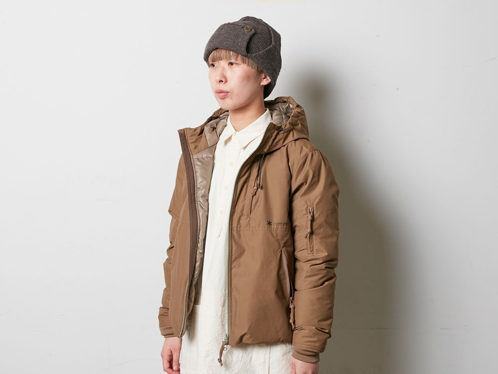 FR Down Jacket M Brown4