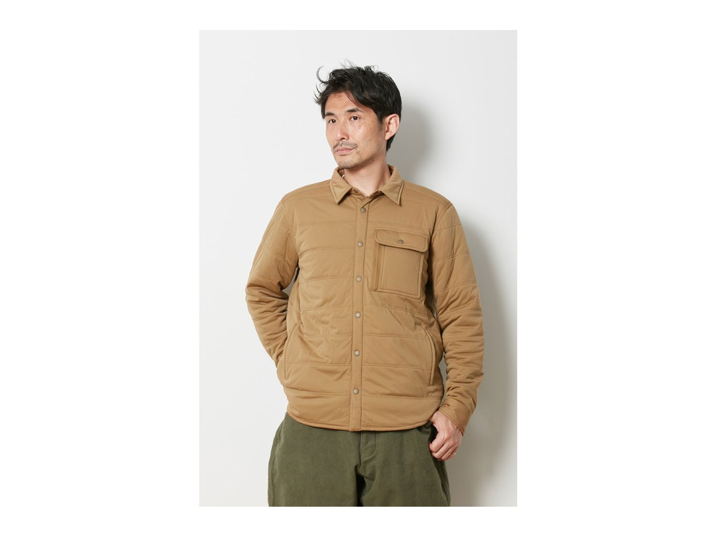Flexible Insulated Shirt M Brown