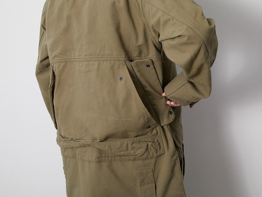 TAKIBI Duck Coat XL Olive