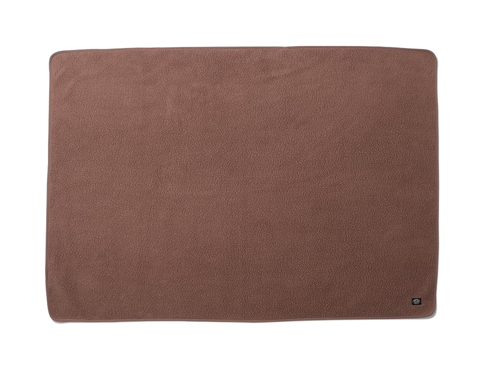 Thermal Boa Fleece Blanket One Brown