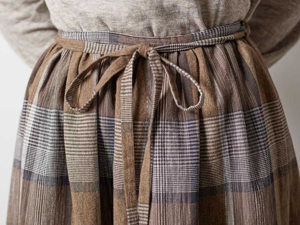 KASURI Skirt 1 Brown4