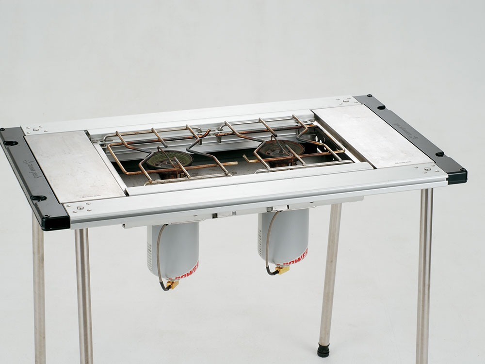 GigaPower Two Burner Stove. Liquid Injection3