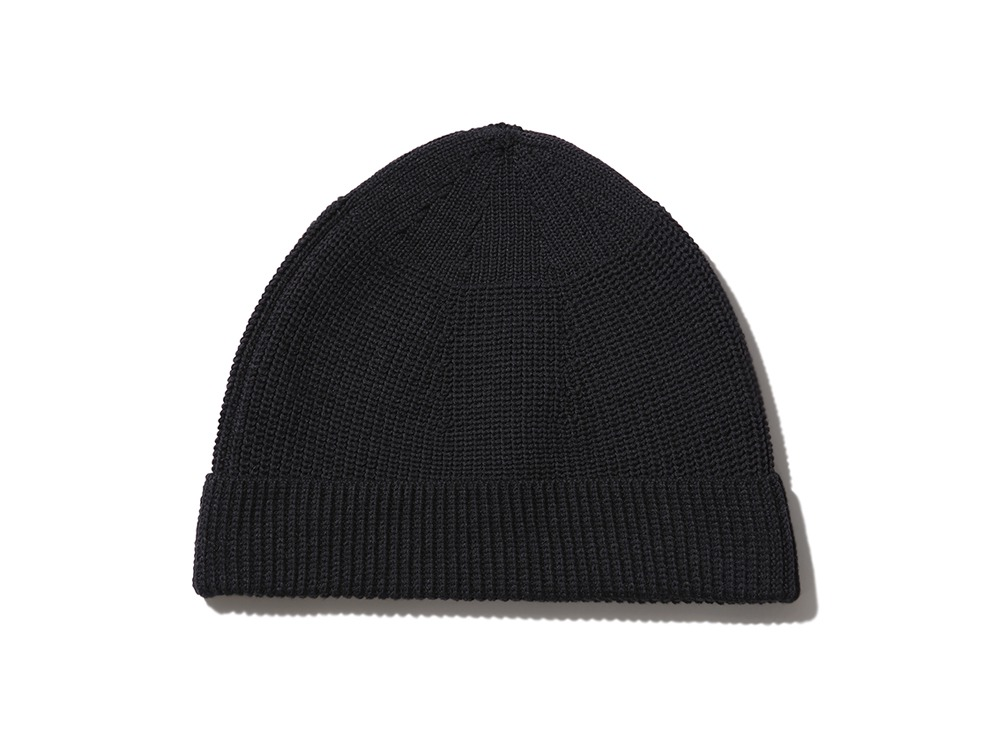 WG Strech Knit Cap One Black