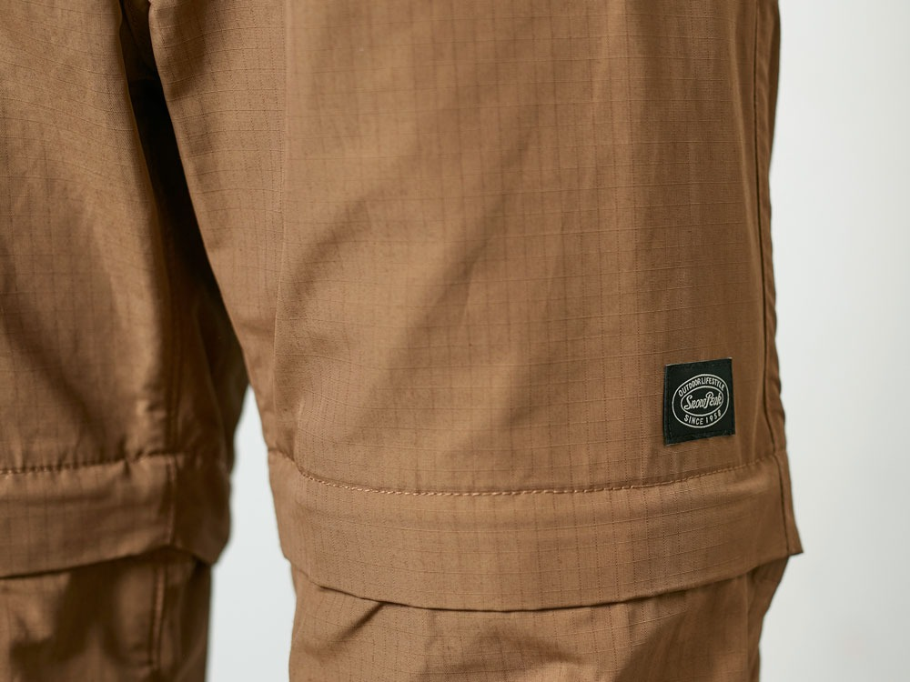 Camping2WayFieldPants S Brown6