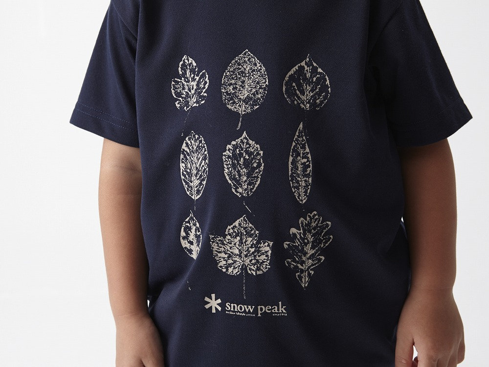 Kid's Printed Tshirt:Greenleaf 3 Navy4