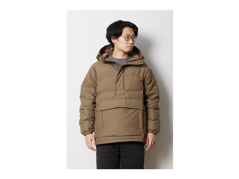 FR Down Pullover L Brown