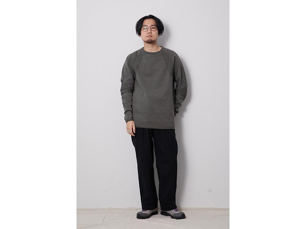 WG Stretch Knit L/S Pullover M Black