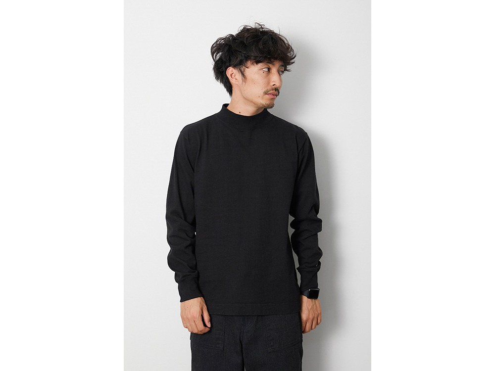 Heavy Cotton GD Mockneck L/S L MGR