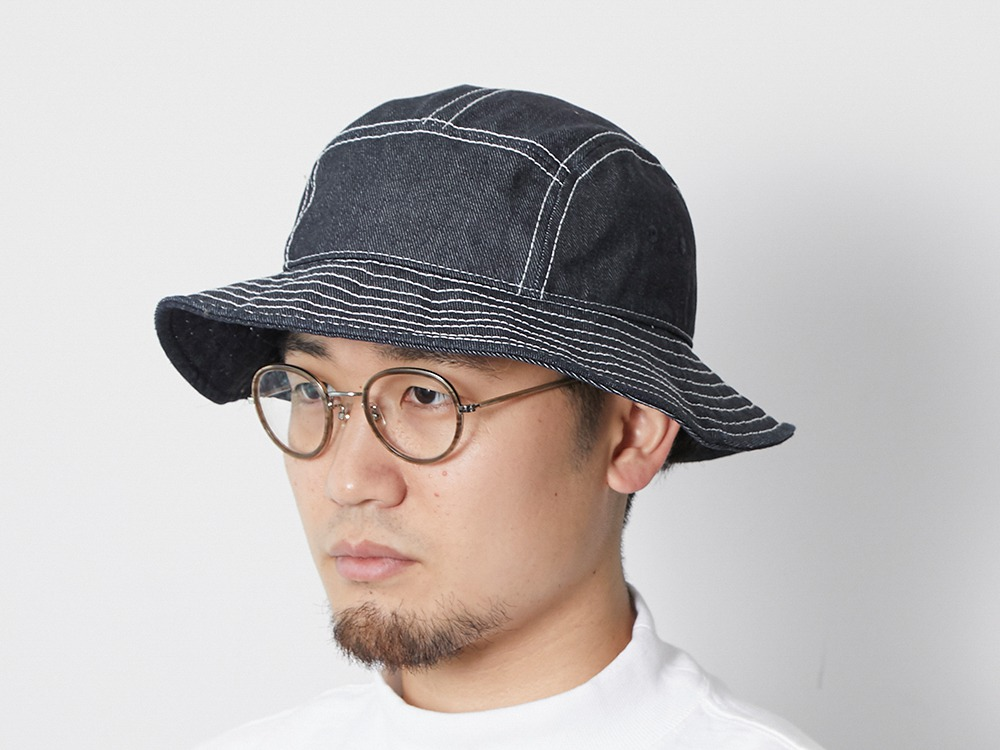 TAKIBI Denim Hat One Indigo