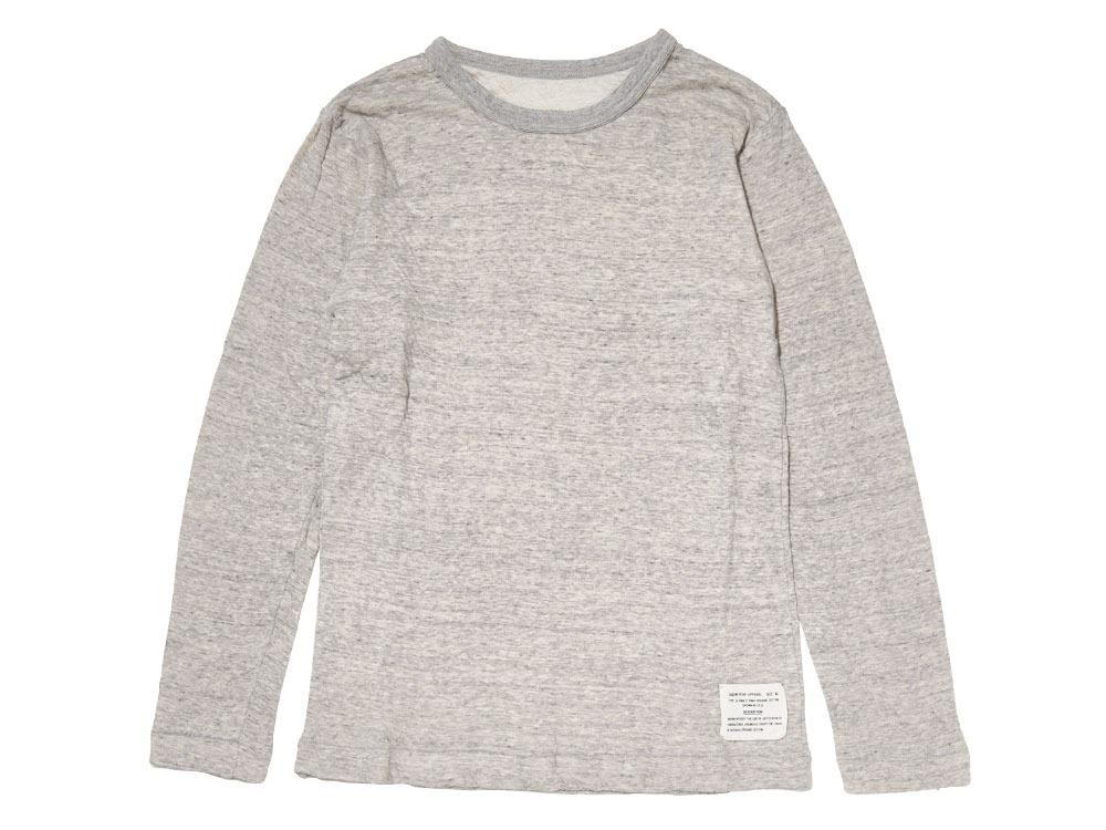 Ultimate Pima Double Knit Long Sleeve S M.Grey0