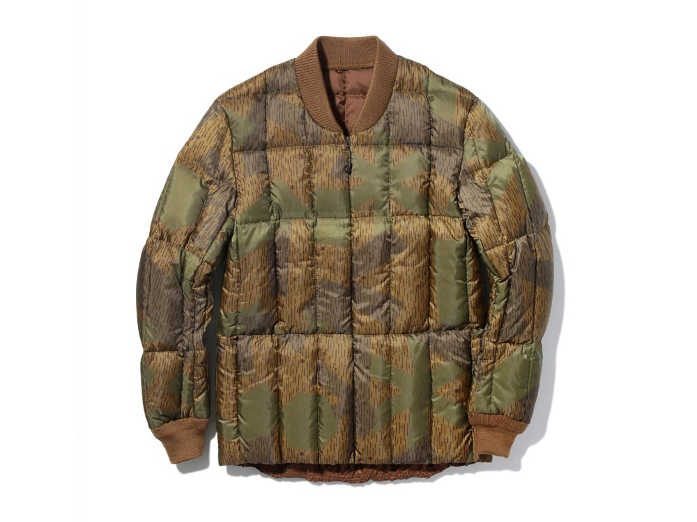 Printed Inner Down Jacket XXL Khaki0