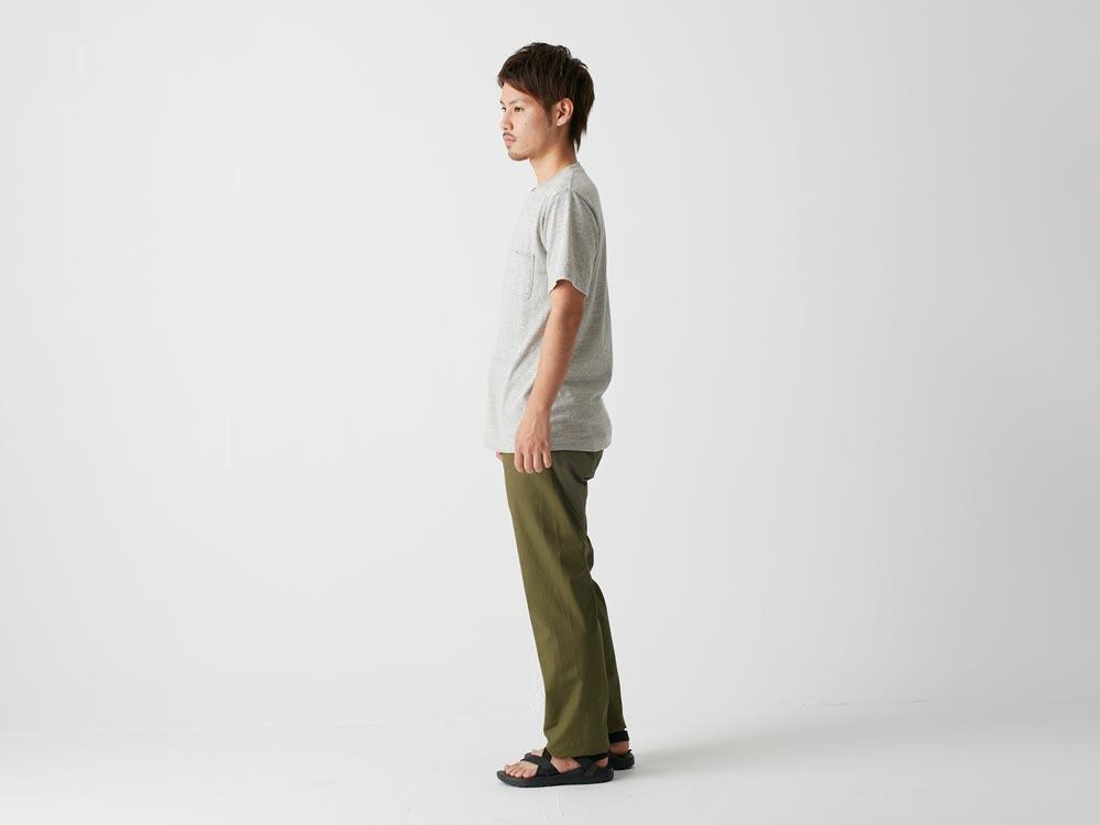 オーガニックティーシャツ XL ネイビー