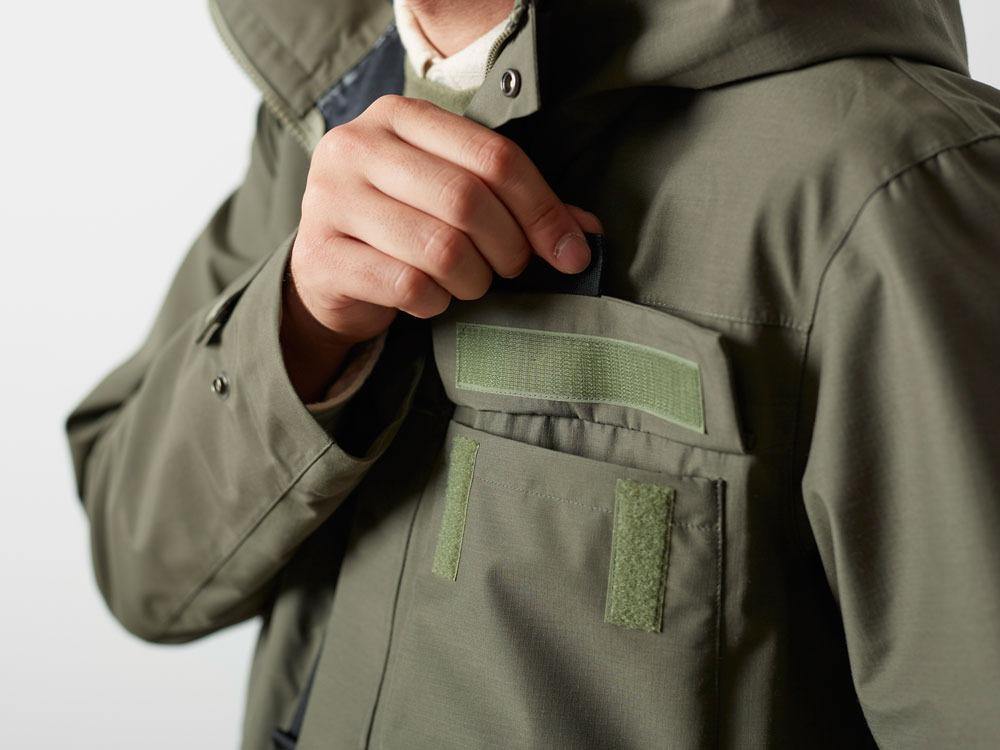 FR Rain Jacket M Olive7