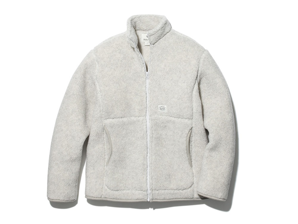 Wool Fleece Jacket 1 WH