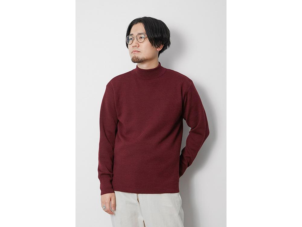 Li/W/Pe Mockneck Long Sleeve 1 BD