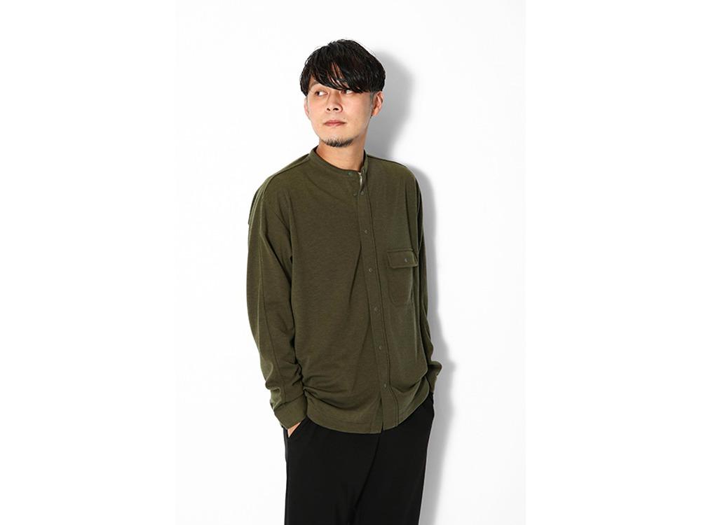 Pe/Wo Grid Shirt M M.Grey