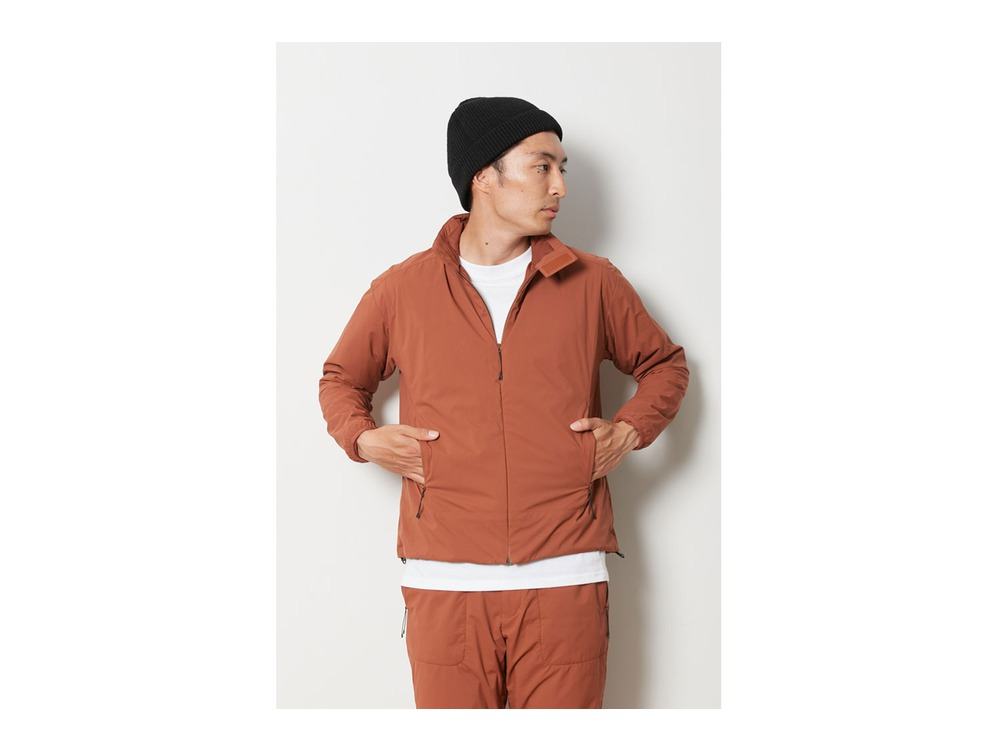 2L Octa Jacket L Orange
