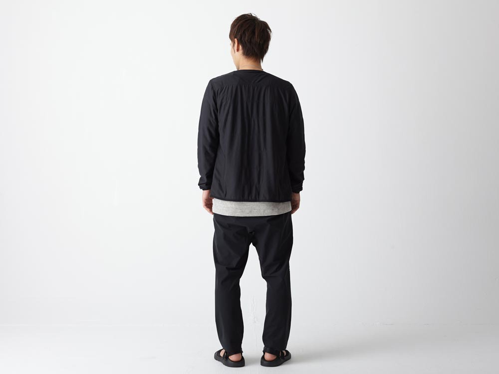 FlexibleInsulated Cardigan L Grey3
