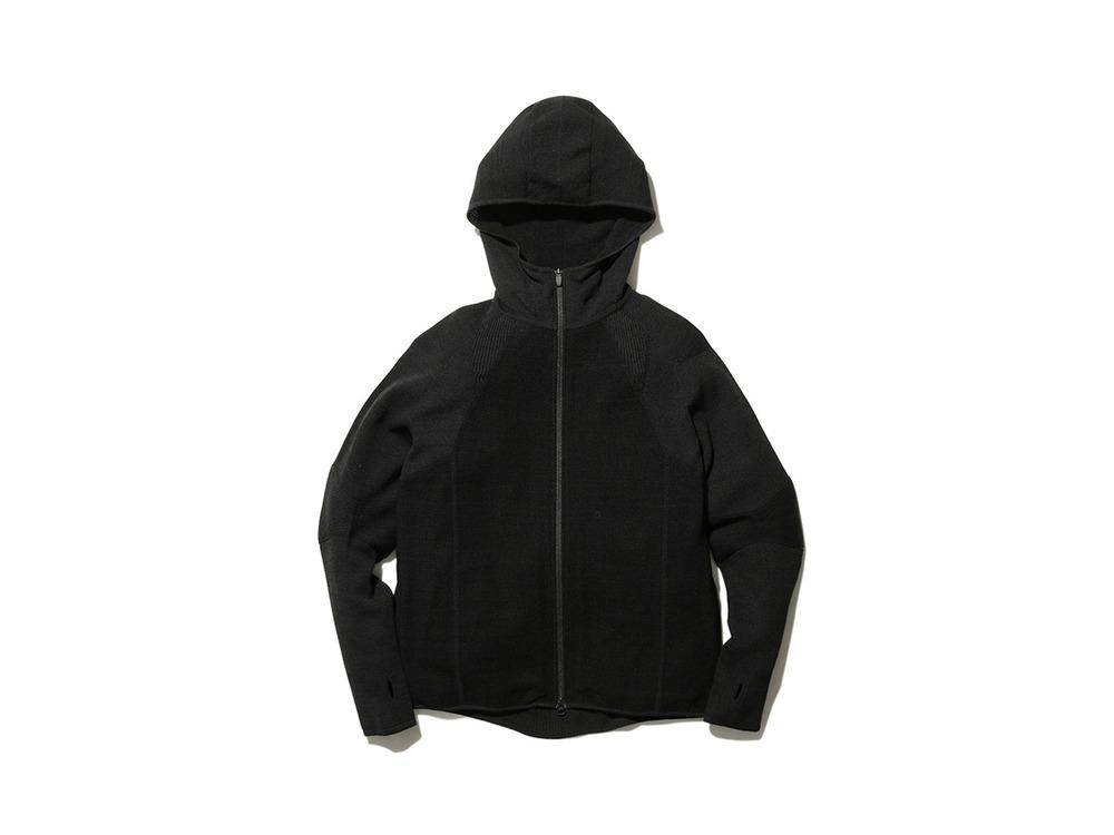 ホールガーメント ニットジャケット M Black
