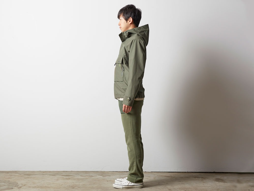 FR Rain Pullover M Olive2