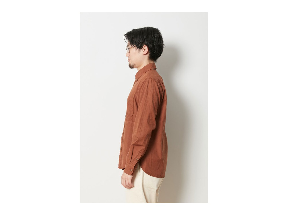 アルティメイトピマ ポプリン ボタンダウン シャツ XL OR