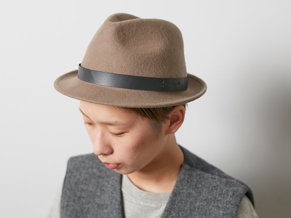 Soft Wool Hat Olive1
