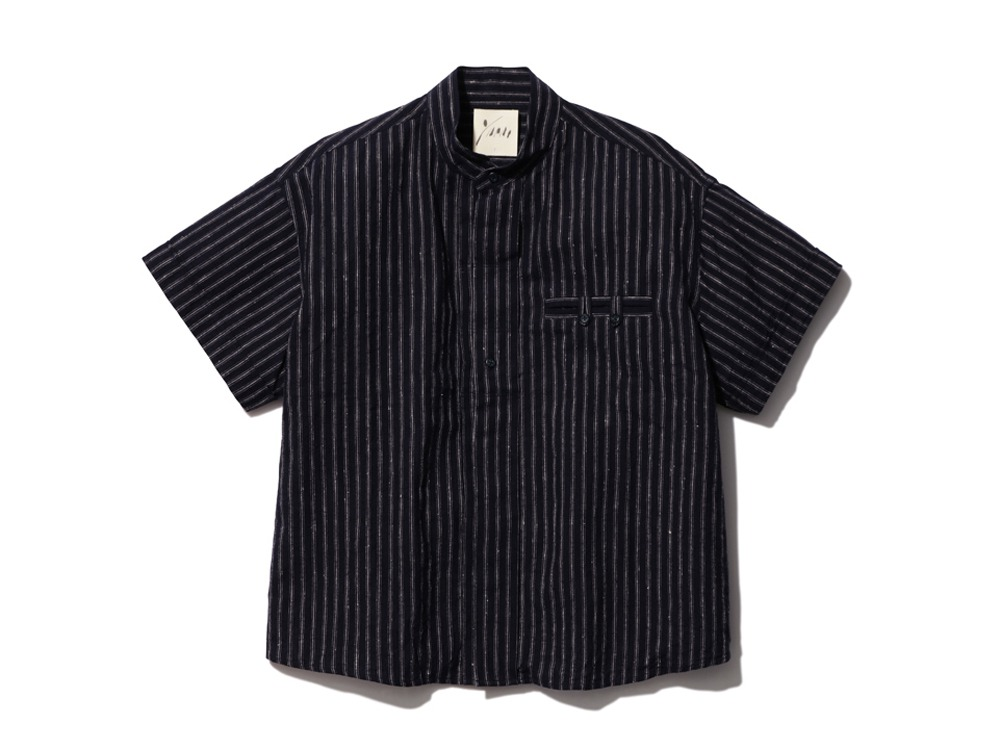 C/L Stripe Shirt 1 NAVY