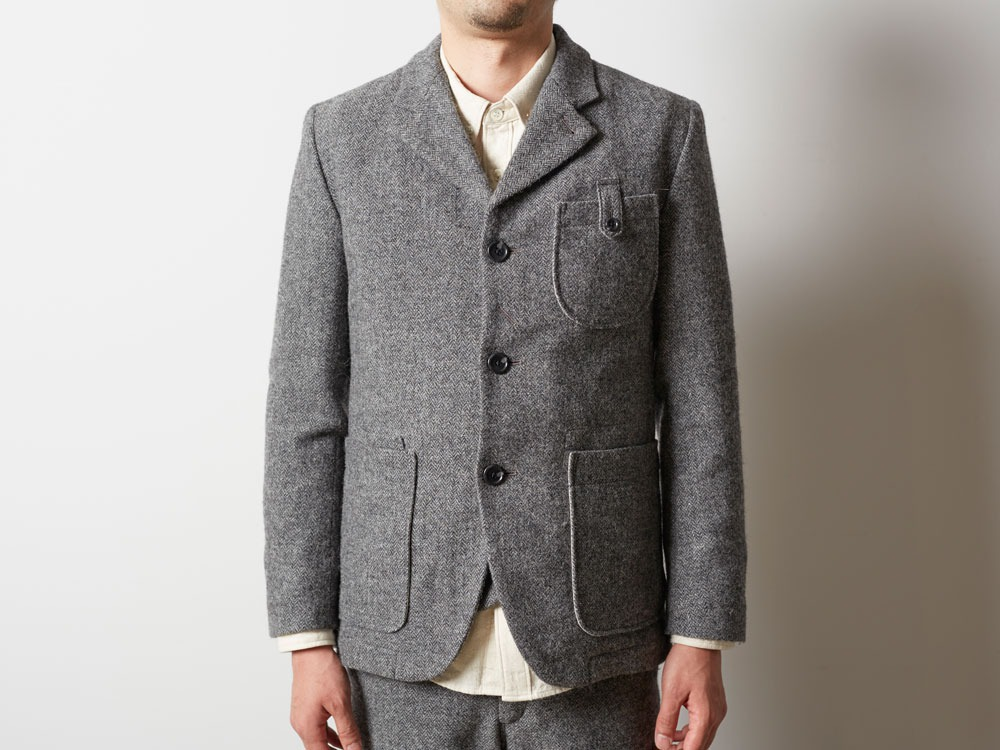 Camping Wool Jacket M Grey10