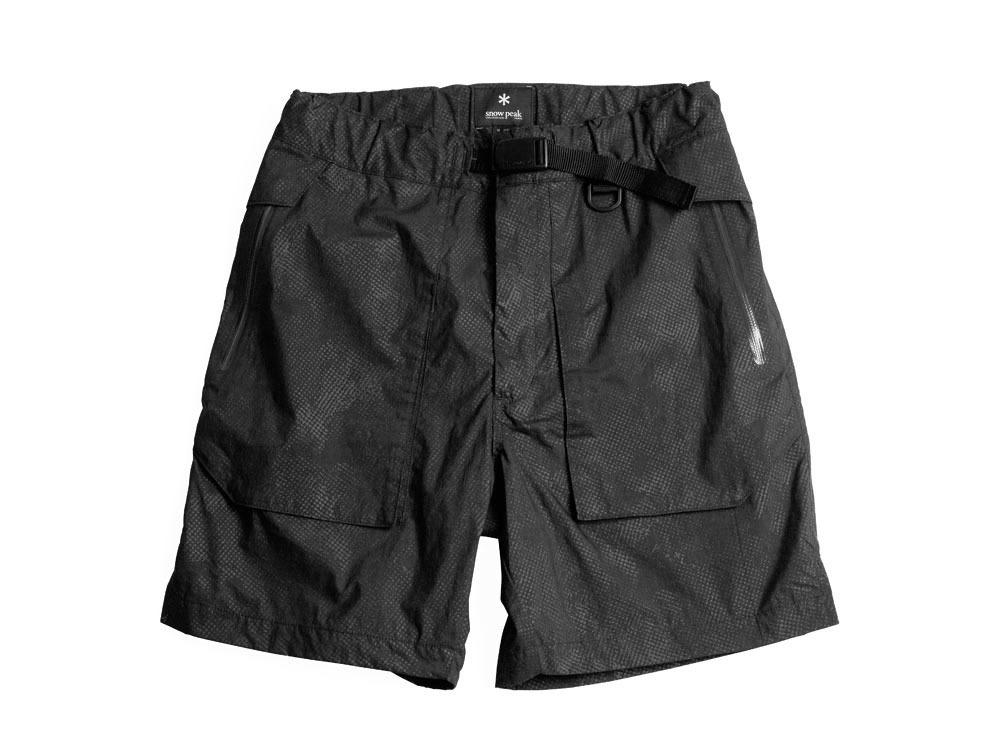Indigo C/N  Anorak Shorts (Print)0