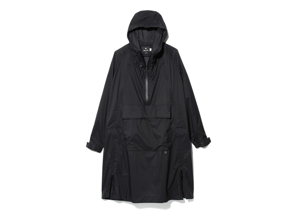 Rain&WindResistantPoncho 2 Black0