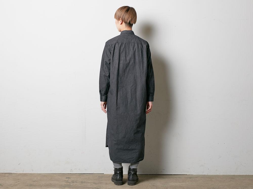 W's Organic Rip Stop Dress 1 Ecru3