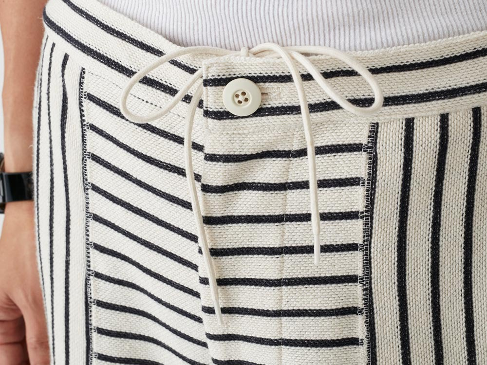C/L Striped Shorts L Ecru6