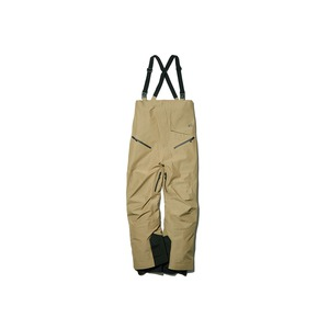 MM FR 3L Bib Pants S Beige