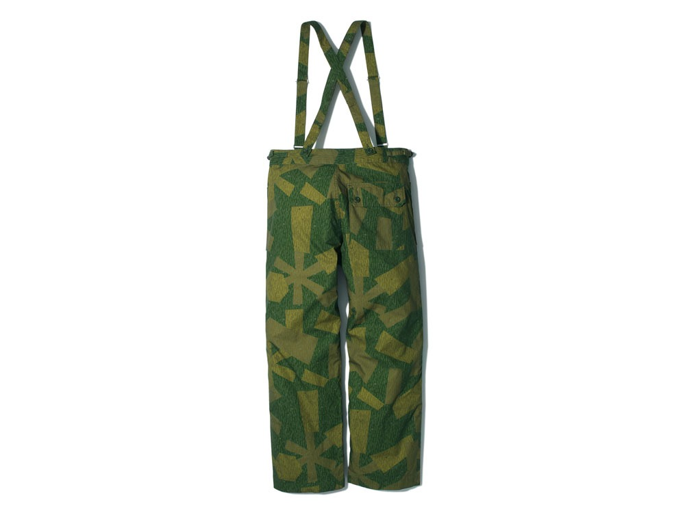 Printed Military Pants 1 Olive1